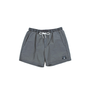 Mens Southern Marsh Seawash Shoals Swim Trunks in Black - Brother's on the Boulevard