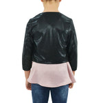 Tween Girls Miss Behave Girls Samantha Jacket in Black - Brother's on the Boulevard
