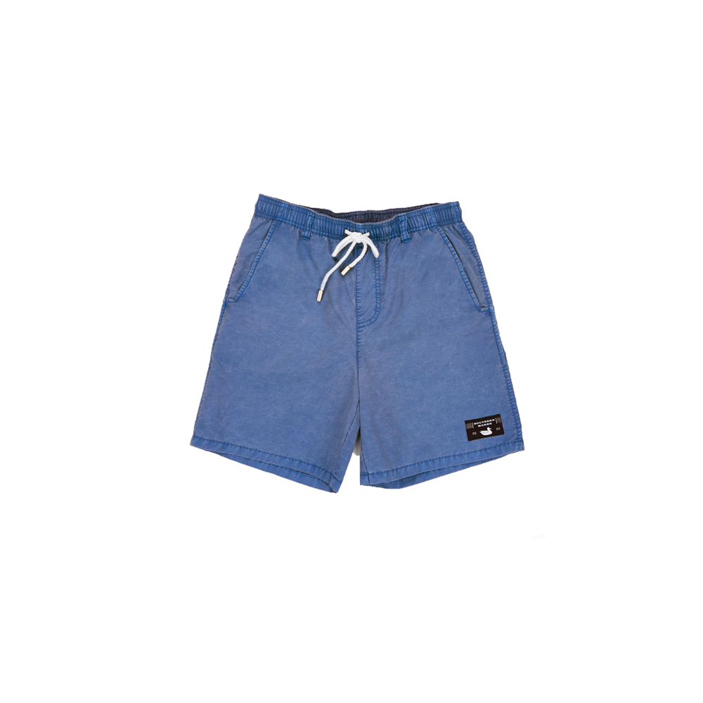Southern Marsh Youth Seawash Shoals Swim Trunks in Washed Blue