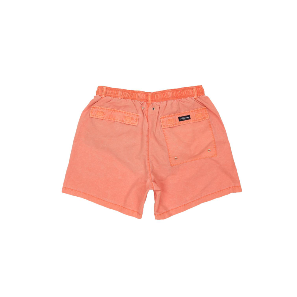 Mens Southern Marsh Seawash Shoals Swim Trunks in Coral - Brother's on the Boulevard