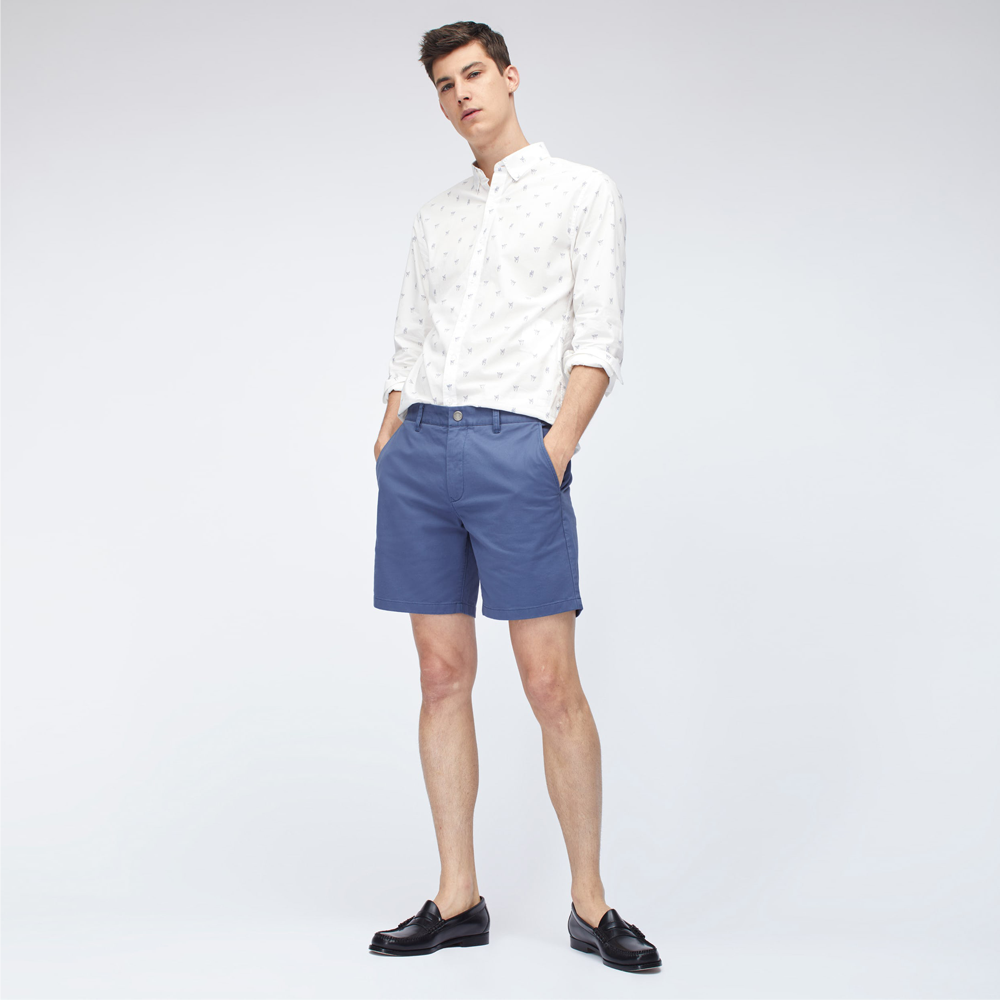 Mens Bonobos Stretch Washed Chino Shorts in Blackberry - Brother's on the Boulevard