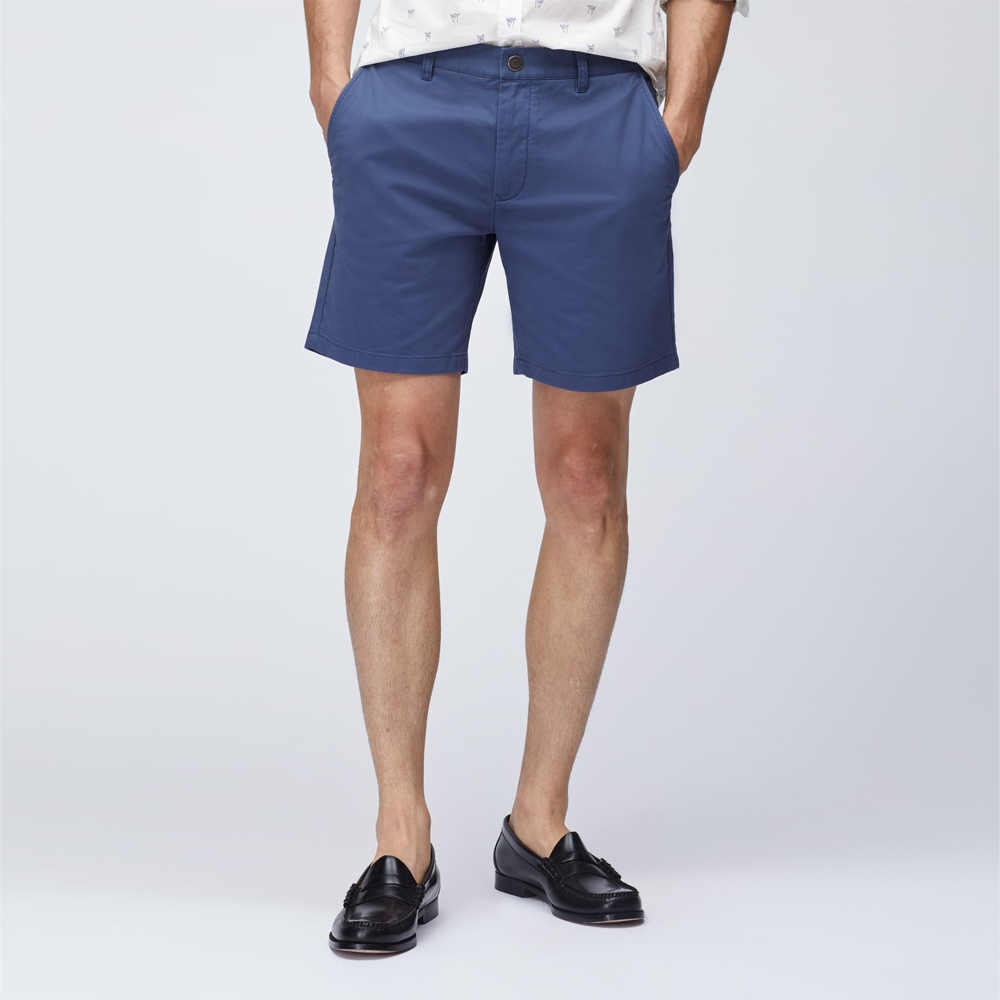 Bonobos Stretch Washed Chino Shorts in Blackberry