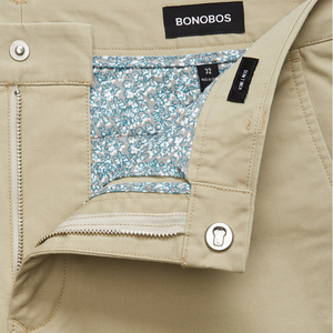 Mens Bonobos Stretch Washed Chino Short in Dry Sage - Brother's on the Boulevard