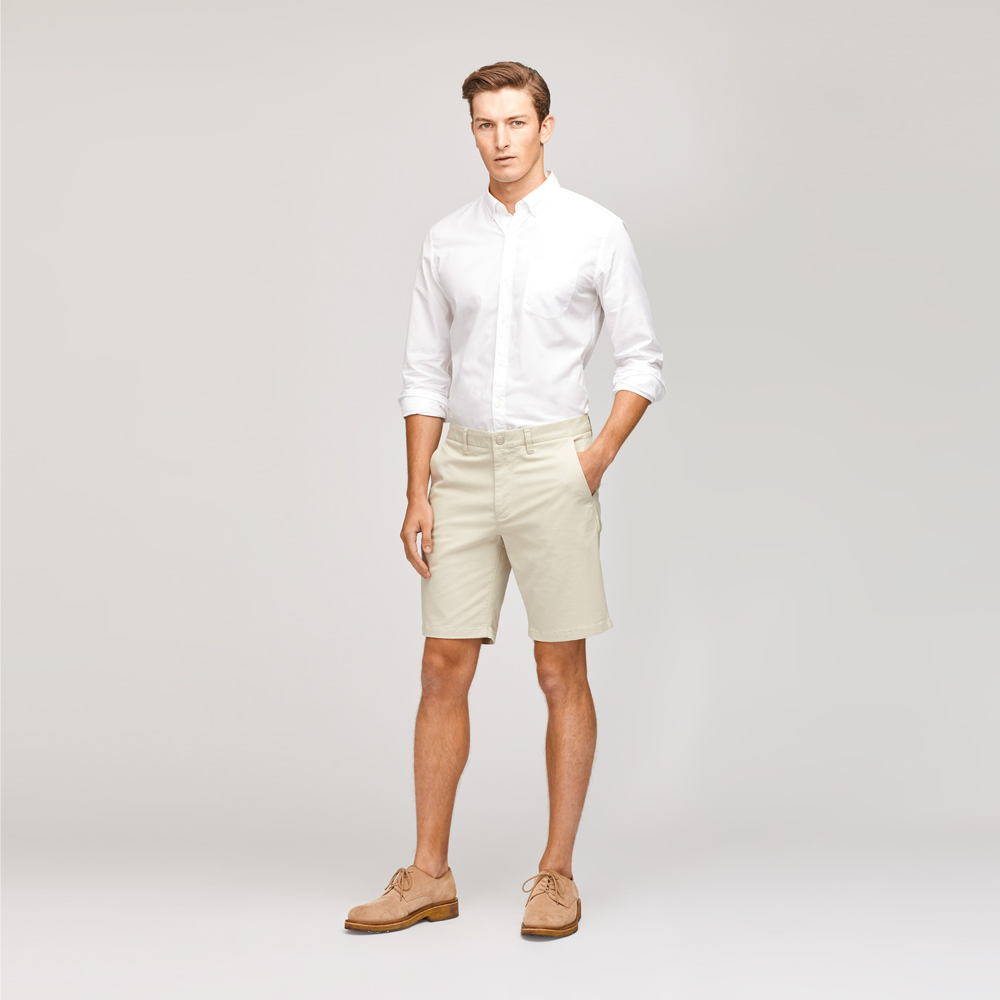 Mens Bonobos Washed Chino Shorts in Wheat - Brother's on the Boulevard
