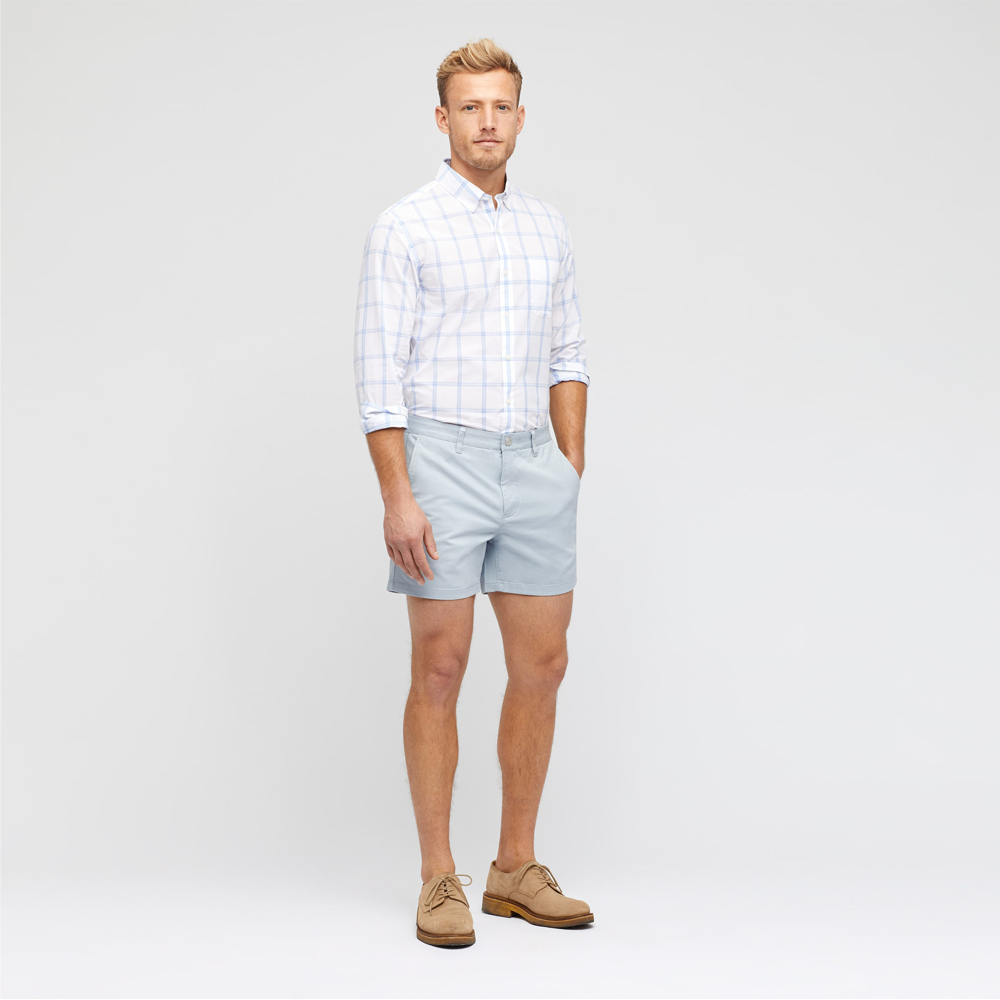 Mens Bonobos Stretch Washed Chino Shorts in Whirlwind - Brother's on the Boulevard