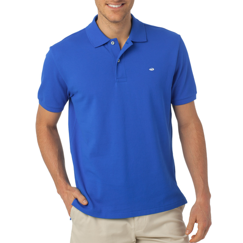 Southern Tide Skipjack Polo in Cobalt Blue