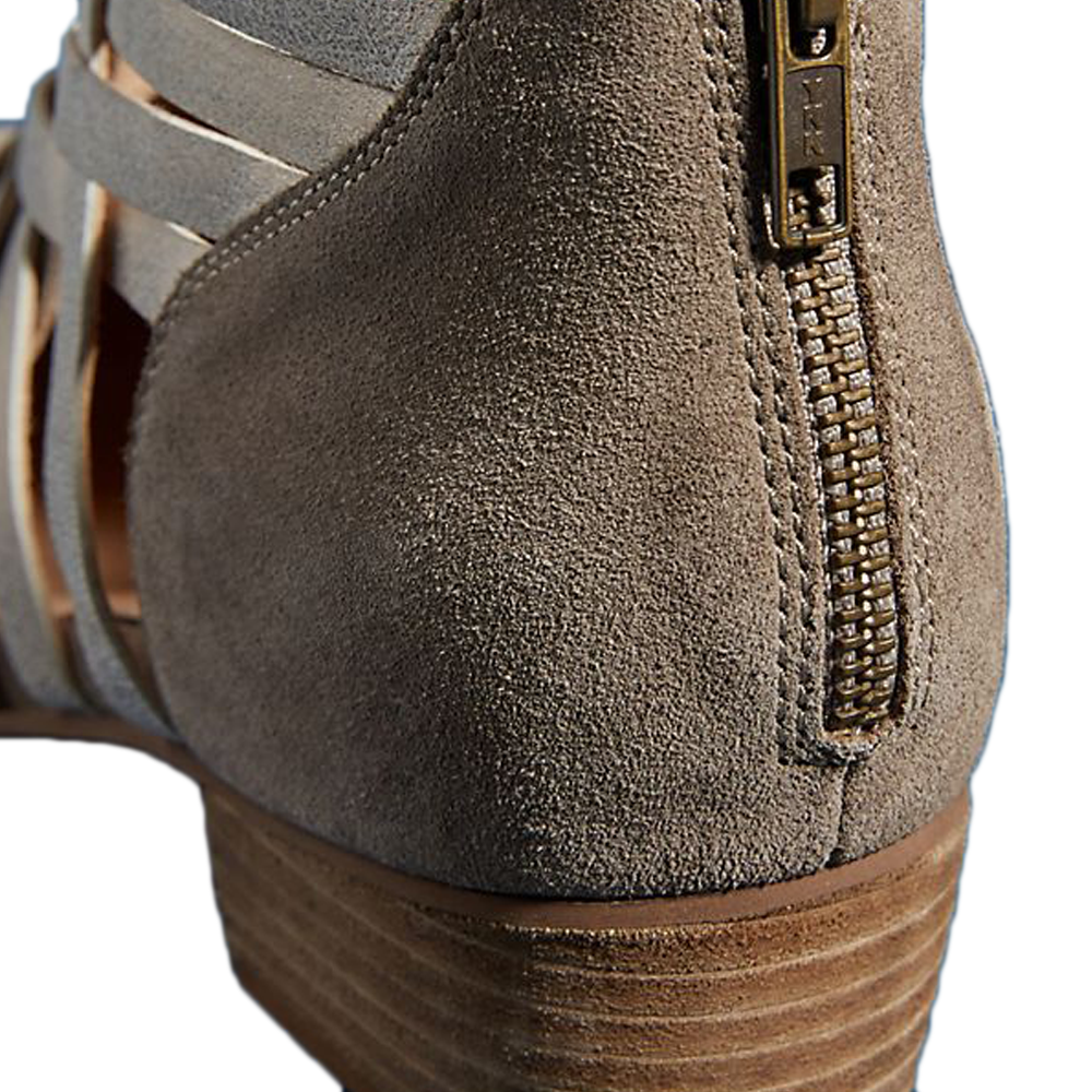Womens Seychelles So Blue Low Cut Bootie in Taupe - Brother's on the Boulevard