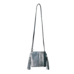 Womens Kelly Wynne Sorry Not Sorry Satchel in Iridescent Slate - Brother's on the Boulevard