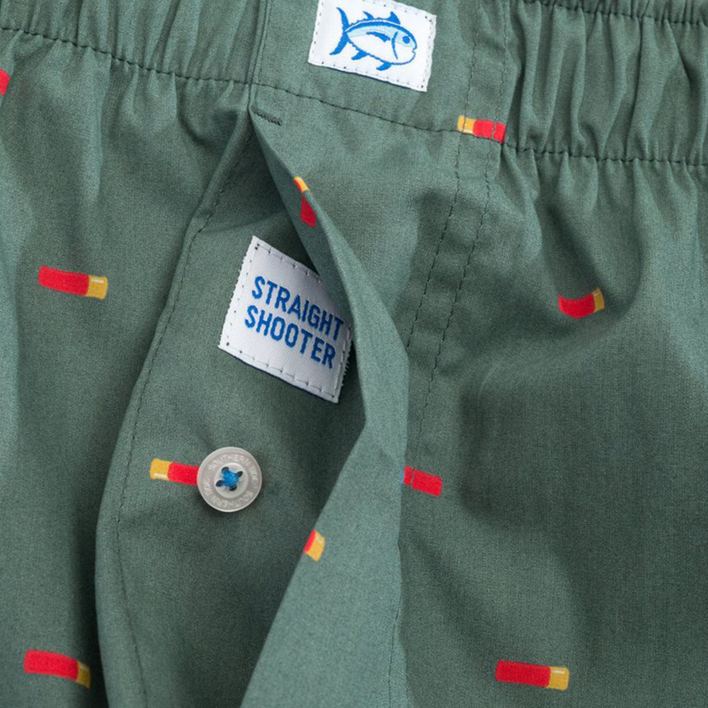 Mens Southern Tide Straight Shooter Boxer in Green - Brother's on the Boulevard