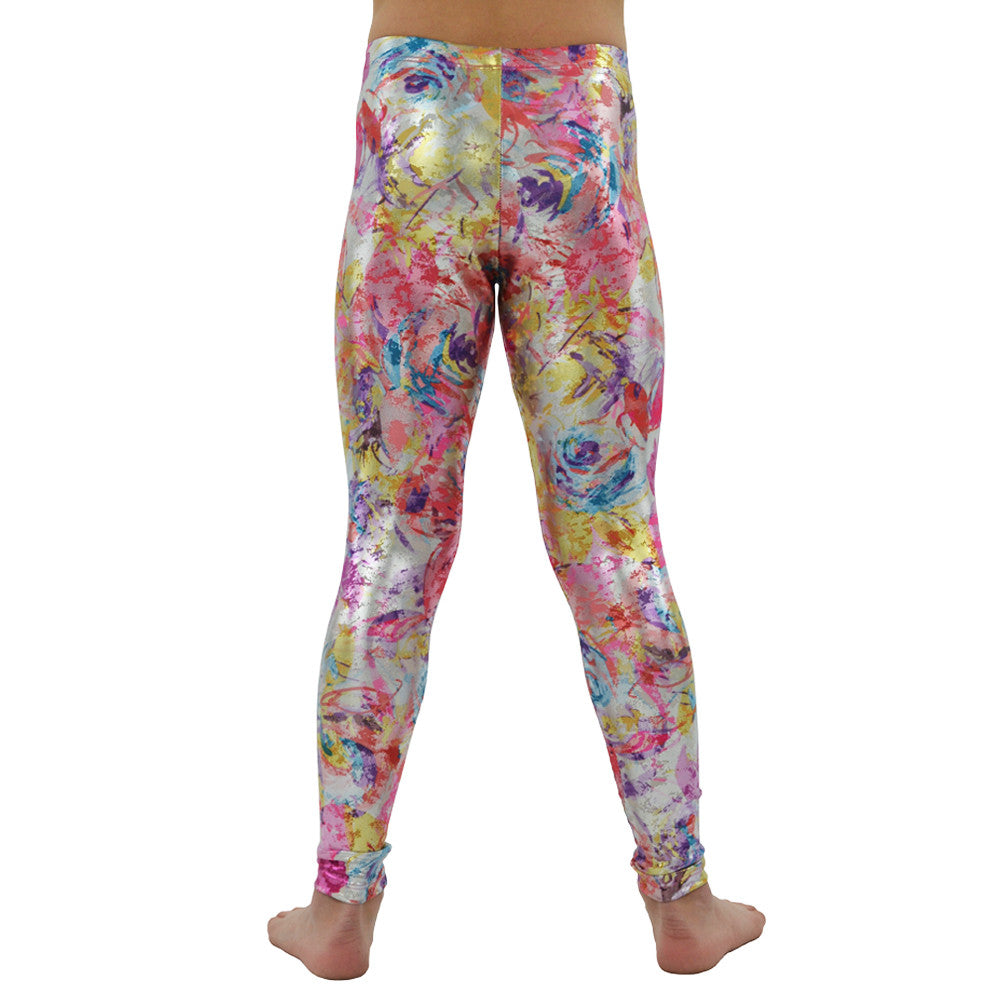 Tween Girls Weekend Vibes Girls Splash Leggings in Multi - Brother's on the Boulevard
