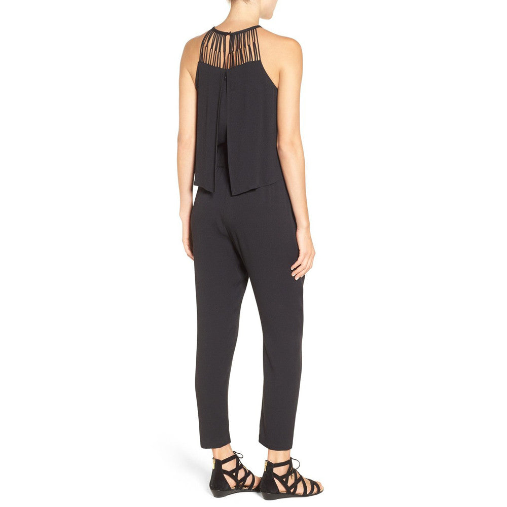 Womens Ella Moss Stella Skinny Jumpsuit in Black - Brother's on the Boulevard