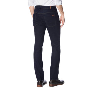 Mens 7 For All Mankind FoolProof Denim The Straight Jean in Classic Indigo - Brother's on the Boulevard