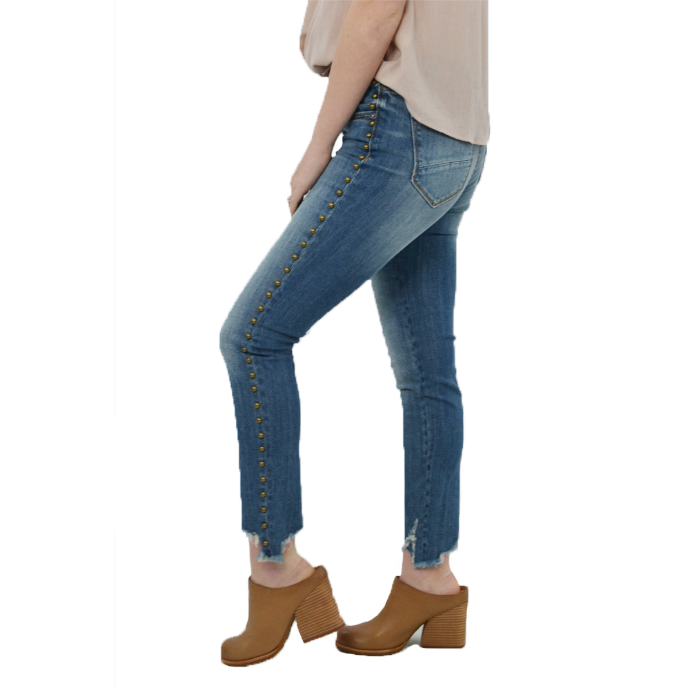 Womens Driftwood Jackie Stud Jean in Brick - Brother's on the Boulevard