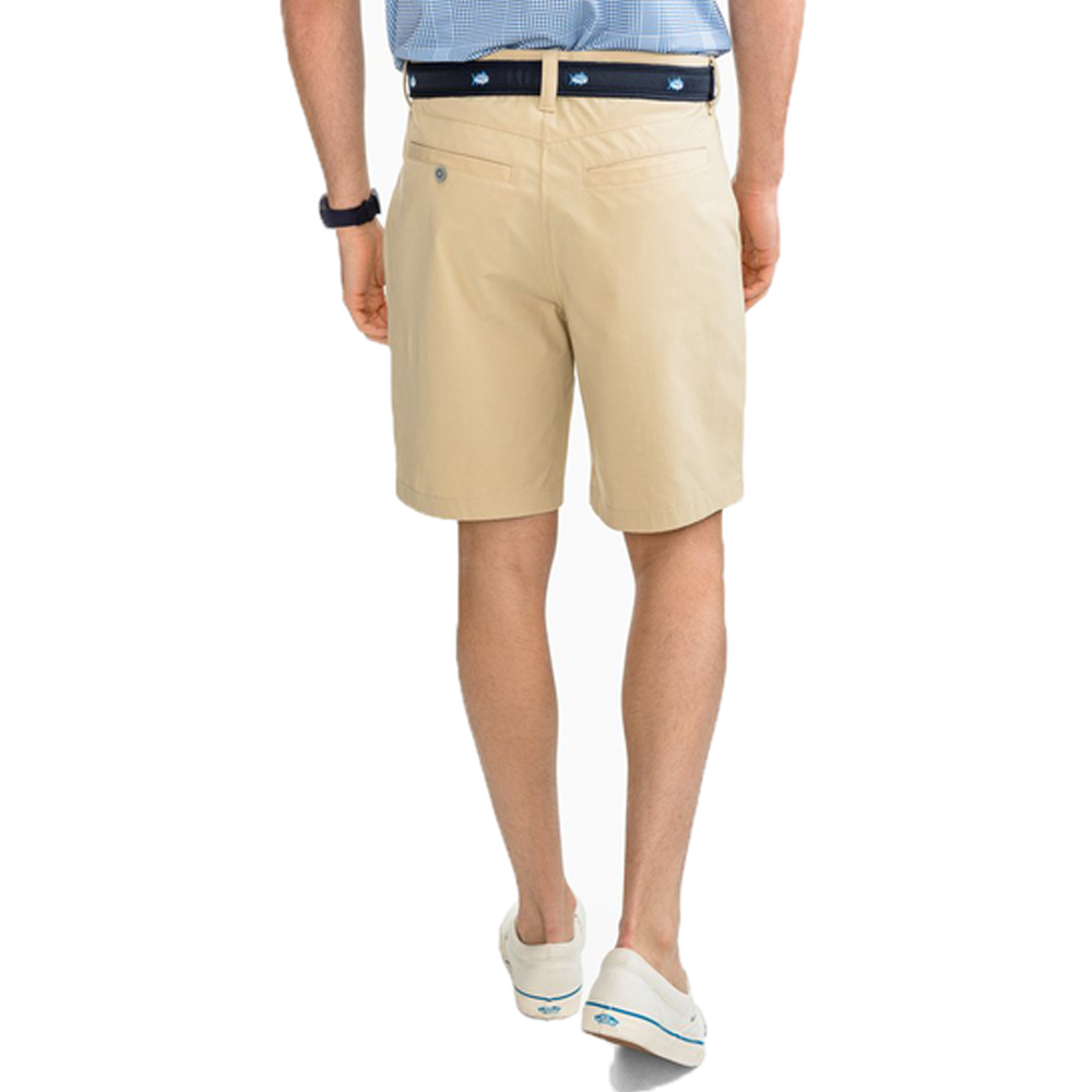 "Mens Southern Tide T3 Gulf 9"" Short in Coastal Khaki - Brother's on the Boulevard"