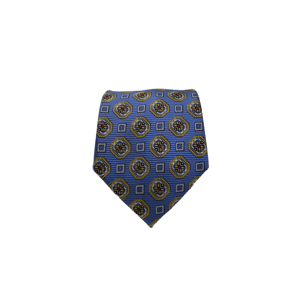 Ancora Italy Neck Tie in Blue