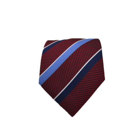 Mens Ancora Italy Neck Tie in Red/White/Blue - Brother's on the Boulevard