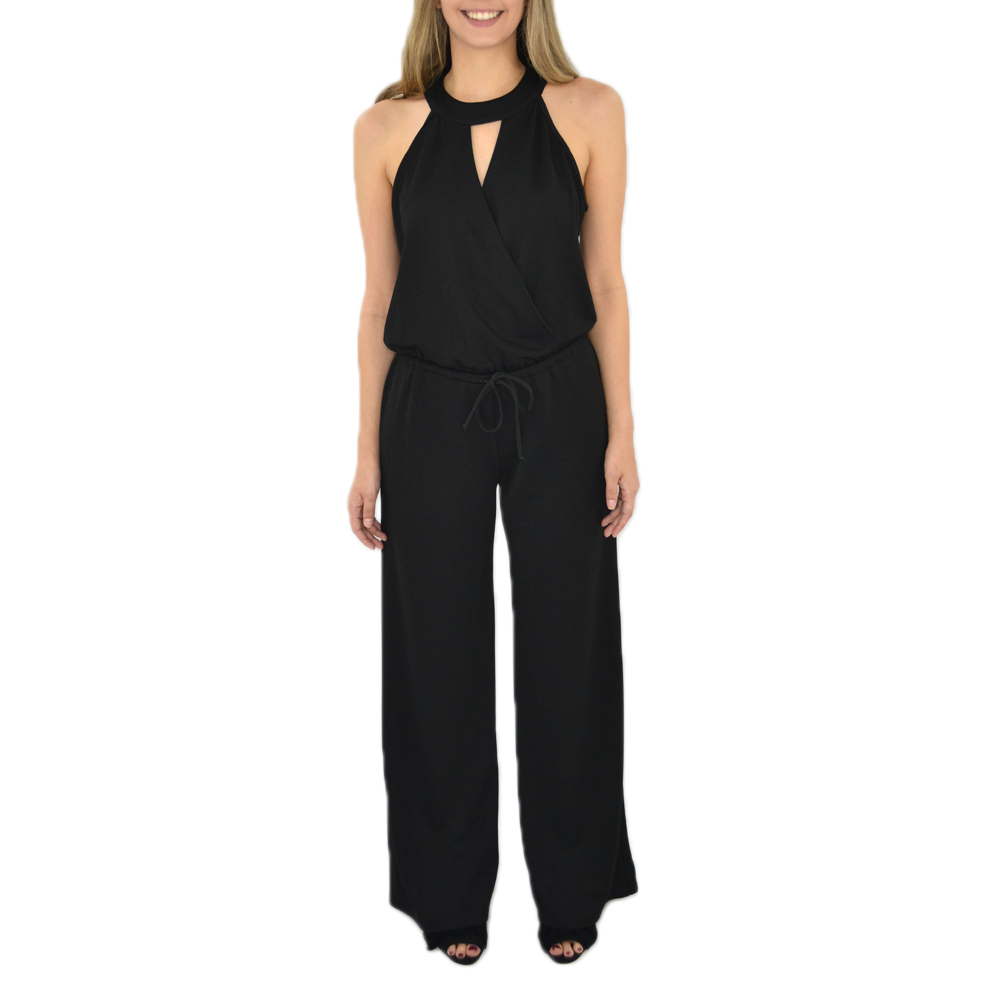 Catherine Kate Corri Jumpsuit in Black