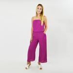 Womens Three Eighty Two Liliana Strapless Jumpsuit in Tulip - Brother's on the Boulevard