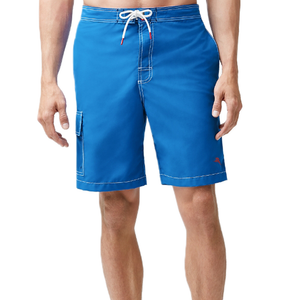 a7af8f09f4 Mens Tommy Bahama Baja Beach 9-Inch Board Shorts in Santorini Blue -  Brother's on