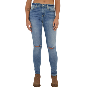 Womens 7 For All Mankind The Ankle Mid Rise Skinny in CRV2 - Brother's on the Boulevard