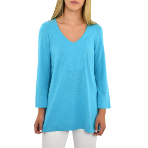 Womens Lilla P. Tunic in Capri Blue - Brother's on the Boulevard