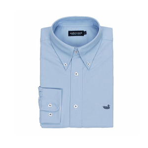 Mens Southern Marsh The University Oxford Dress Shirt in Light Blue - Brother's on the Boulevard