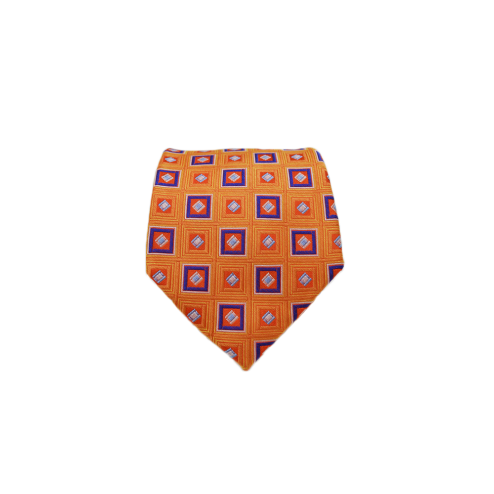 Mens Scotty Z London Neck Tie in Orange - Brother's on the Boulevard