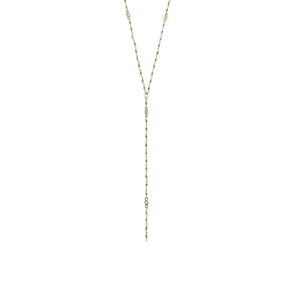 Womens Joy Dravecky Wayfare Y Necklace in Gold - Brother's on the Boulevard