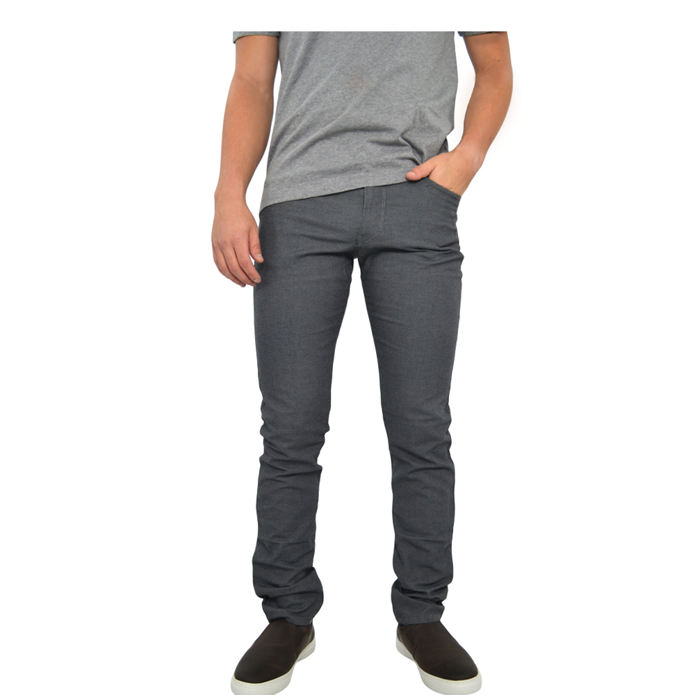 Brax Cadiz Two Tone Pants in Silver