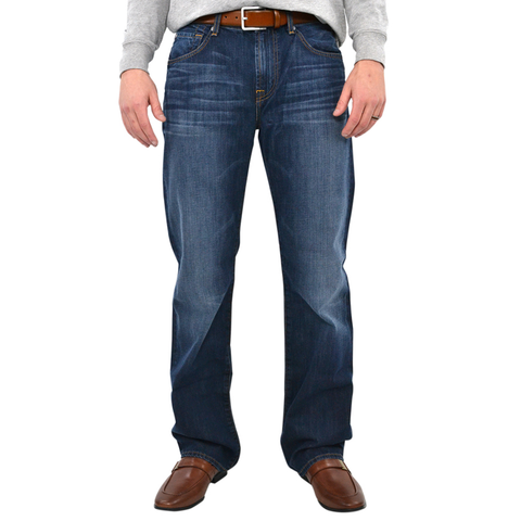Mens 7 For All Mankind Austyn Luxe-Performance Relaxed Fit Jeans in Clouds - Brother's on the Boulevard
