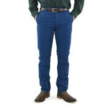 Bonobos Stretched Washed Chino in Cobalt Blue