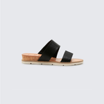 Womens Dolce Vita Vala Sandal in Black - Brother's on the Boulevard