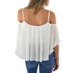 Womens Elliatt Visage Camisole in White - Brother's on the Boulevard