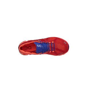Womens On Running Cloud X Slip-On Shoe in Red Flash - Brother's on the Boulevard
