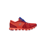 On Running Cloud X Slip-On Shoe in Red Flash