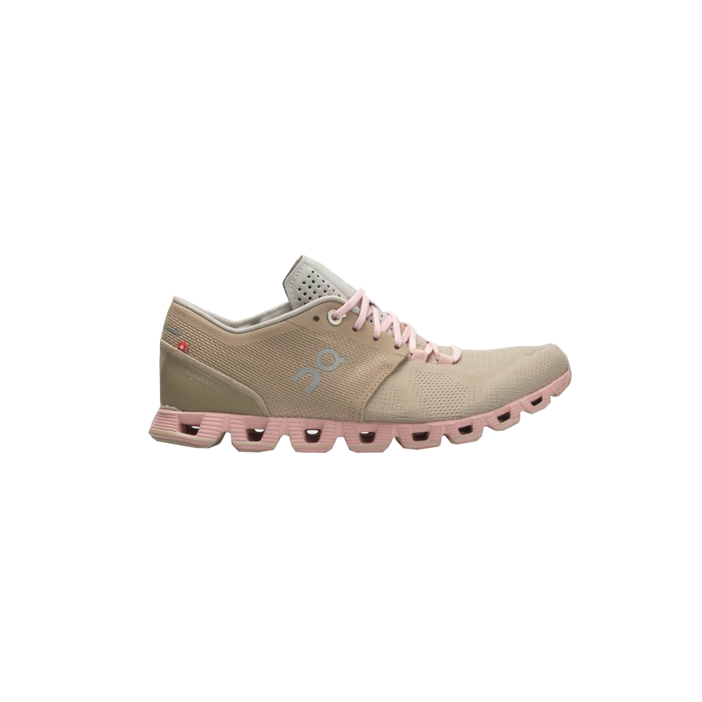 Womens On Running Cloud X Shoe in Sandrose - Brother's on the Boulevard