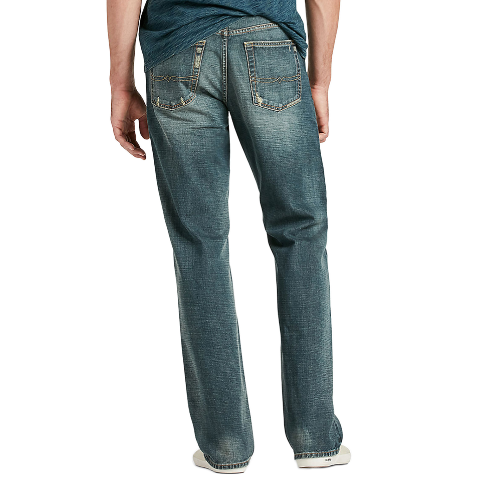 Lucky Brand Mens 181 Relaxed-Straight Jean in Wilder Ranch