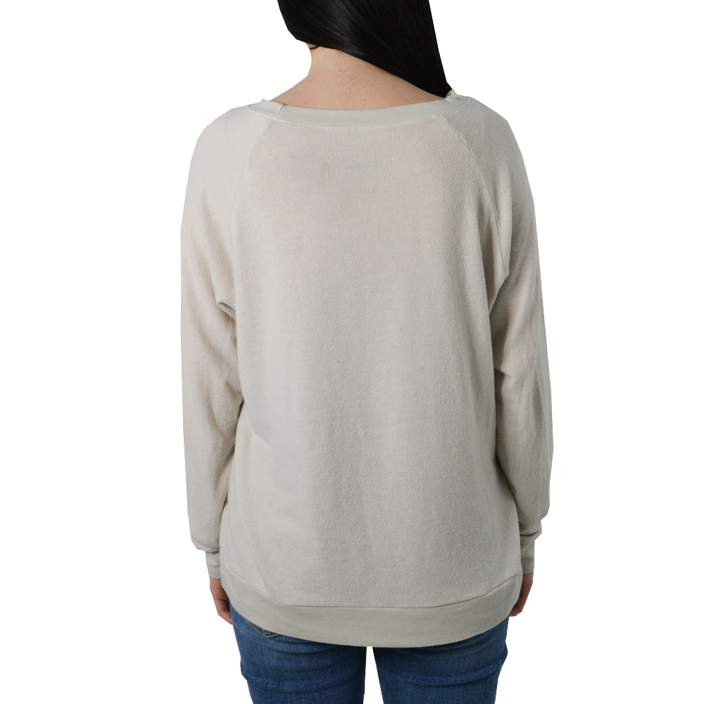 Womens The Light Blonde Won't He Do It Sweater in Off-White - Brother's on the Boulevard