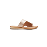 Womens Coconuts by Matisse Whitney Silver Wedged Toe Ring Sandal in Rose Gold - Brother's on the Boulevard
