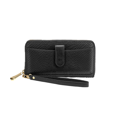 Womens GiGi New York City Wallet in Black - Brother's on the Boulevard