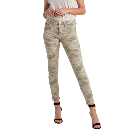 Hudson Jeans Nico High Rise Ankle in Camo
