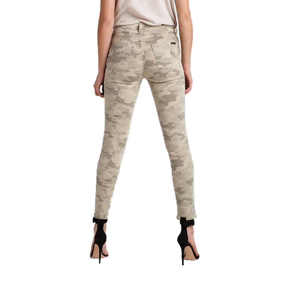 Womens Hudson Jeans Nico High Rise Ankle Skinny in Army Camo - Brother's on the Boulevard