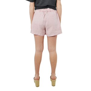 Womens Michael Stars Tricia Linen Short in Whisper - Brother's on the Boulevard