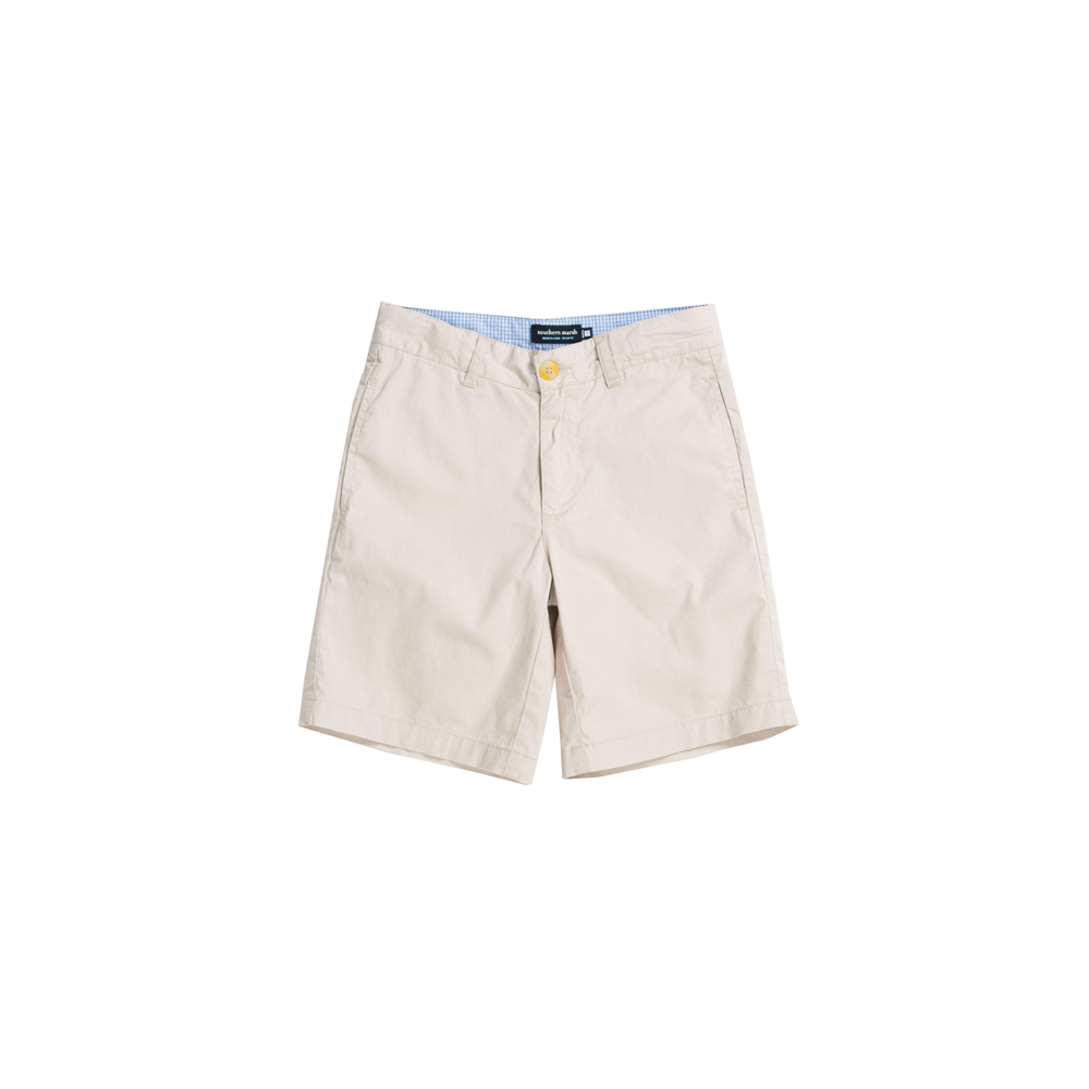Southern Marsh Youth Windward Summer Short in Audubon Tan
