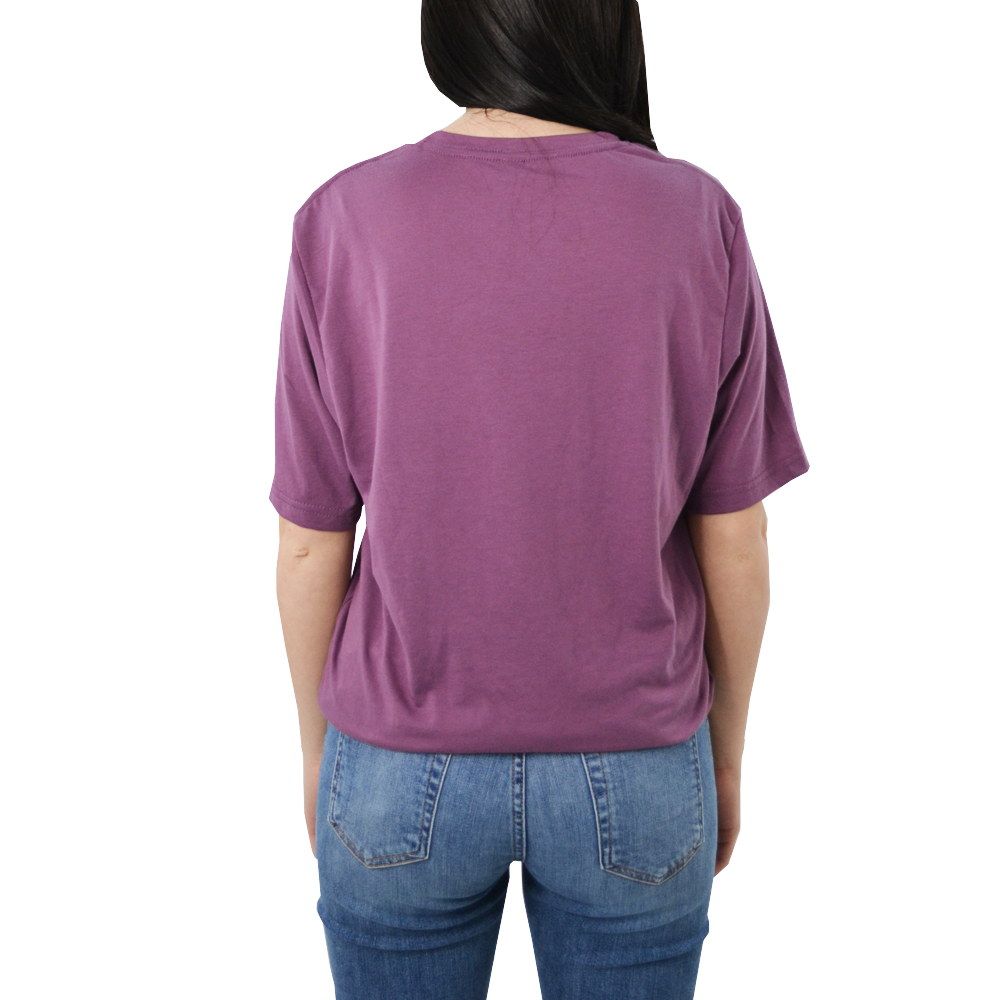 "Womens Brother's ""Grace"" Tee in Purple - Brother's on the Boulevard"