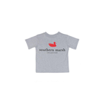Southern Marsh Youth Authentic Tee in Light Grey