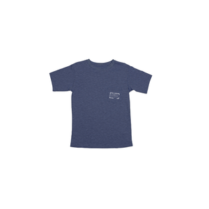 Boys Southern Marsh Youth Authentic Tee in Washed Navy - Brother's on the Boulevard