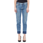 Hudson Jeans Zoeey High Rise Ankle Straight in Far Away