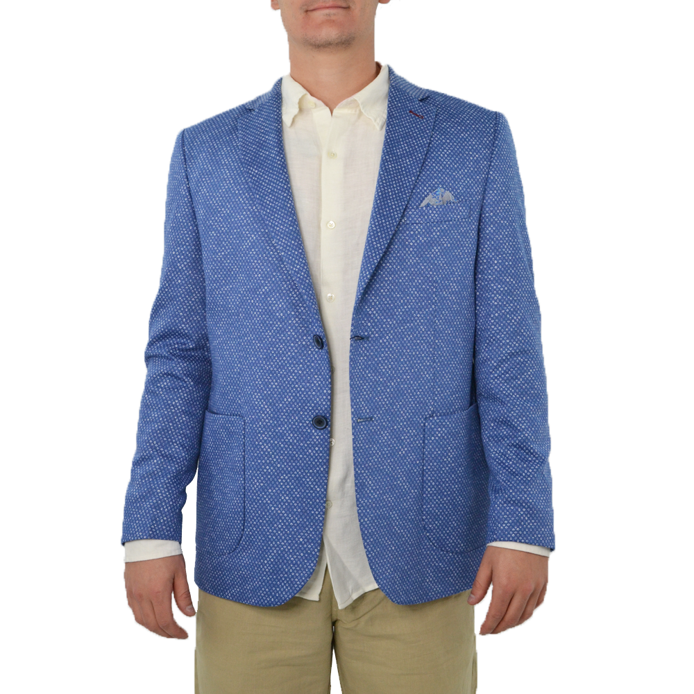 Luchiano Visconti Sport Coat in Blue