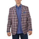 Luchiano Visconti Sport Coat in Red